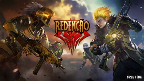 Players freely choose their starting point with their parachute, and aim to stay in the safe zone for as long as possible. Modo de Jogo: Redenção II   FREE FIRE   Free Fire Dicas