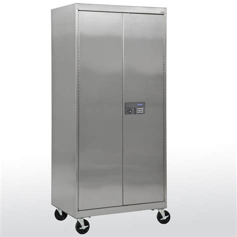 stainless steel kitchen storage cabinets lovely storage cabinet with wheels 2 stainless steel