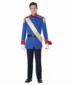 Storybook Prince Charming Man Costume - Fairy Costumes