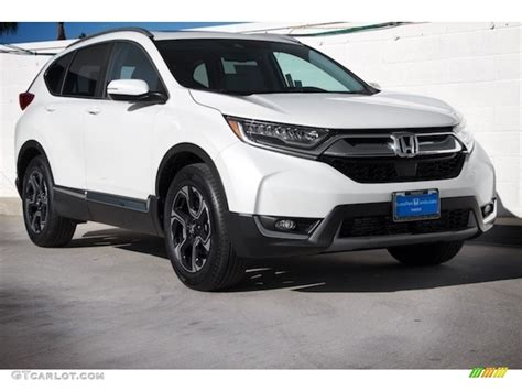 2017 Honda Cr V Touring Awd by 2017 White Pearl Honda Cr V Touring Awd 120603134