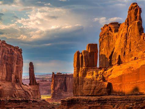arches national park  utah usa landscape  stone