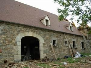 Construction En Pierre : construction en pierre chartrier ferri re r novation ~ Premium-room.com Idées de Décoration