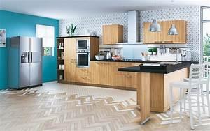 Cuisine équipée Bois : toutes les cuisines ~ Premium-room.com Idées de Décoration
