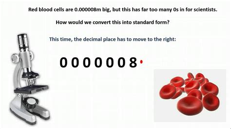standard form small numbers
