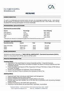ca varun gupta resume With ca resume