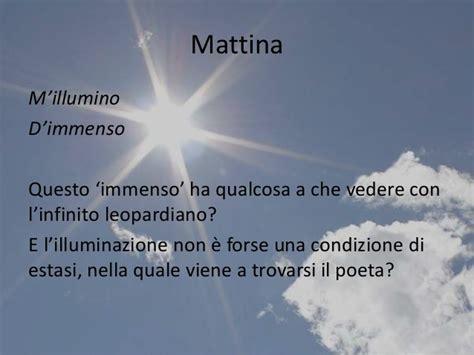 Mi Illumino Di Immenso Poesia by Ungaretti Legge Leopardi