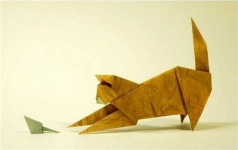 Origami Cat And Mouse …