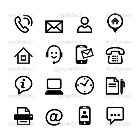 12262 resume contact icons resume contact icons resume icons on behance