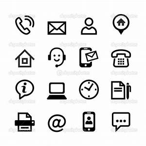 18 Contact Icons EPS Images - Contact Icons Vector ...