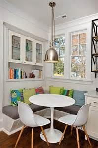 sitzecke küche kleine küche mit moderner sitzecke und esstisch rund freshouse