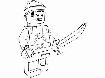 Lego Coloring Pirate Models Sky