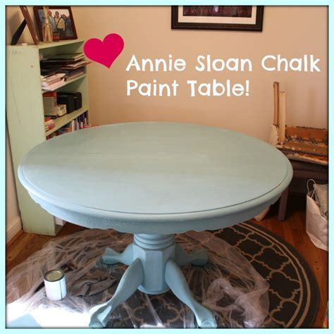 Chalk Paint Dining Room Table   Pedestal, Dining room