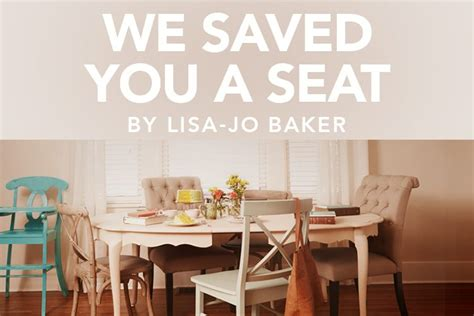 Image result for images of we saved you a seat bible study