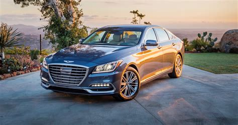 2018 Genesis G80 Priced From $41,750, G80 Sport $55,250