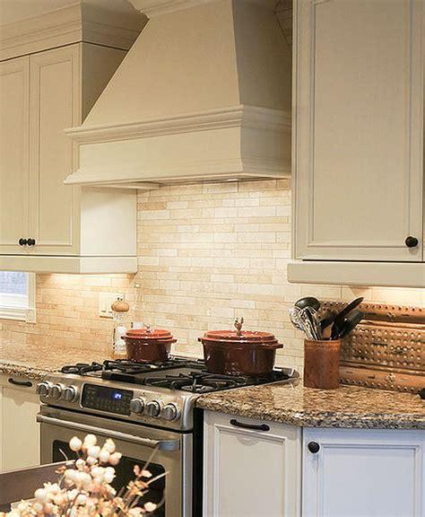 A kitchen backsplash can be useful in protecting your kitchen walls against water. Light ivory Travertine Kitchen Subway Backsplash Tile ...