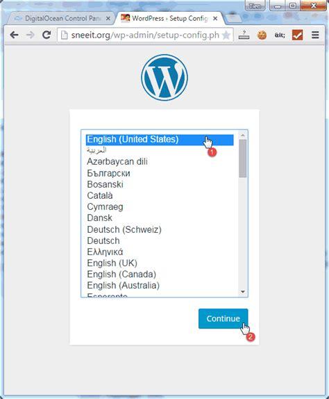 install nginx  wordpress  digital ocean vps hosting