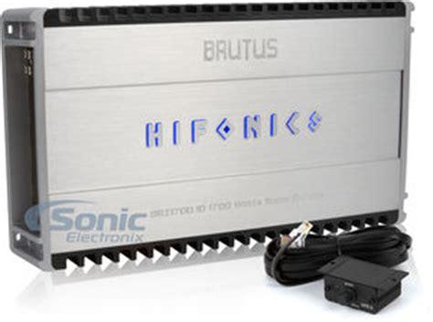 hifonics brutus brz 1700 1d class d 1700w monoblock lifier