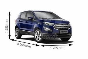 Medidas Ford Ecosport  Longitud  Anchura  Altura Y Maletero