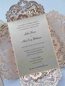 Laser cut wedding invitations for Laser cut wedding invitations us