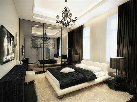 chambre baroque noir et blanc la suspension baroque une note déco classique archzine fr