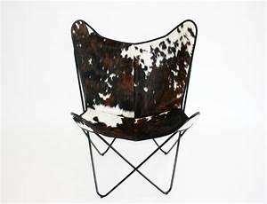 Fauteuil Peau De Vache : fauteuil bonet bkf en peau de vache ~ Teatrodelosmanantiales.com Idées de Décoration