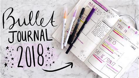 My Bullet Journal 2018 Setup! 📝 How I Organize My Life!  Jamie Paige Youtube