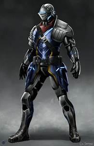 ArtStation - Sci-Fi Souls - Elite Knight Armor, Cal Santiago
