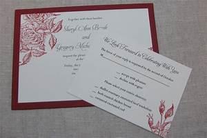 wedding invitation wording handmade wedding invitation With pictures of handmade wedding invitations