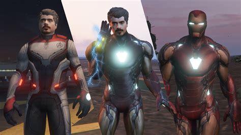 iron man mk tony stark avengers endgame gta modscom