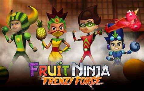 fruit ninja  original juicy fruit slicing action game