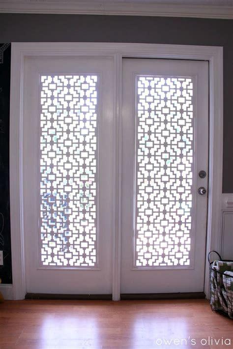 25  best ideas about Door window treatments on Pinterest