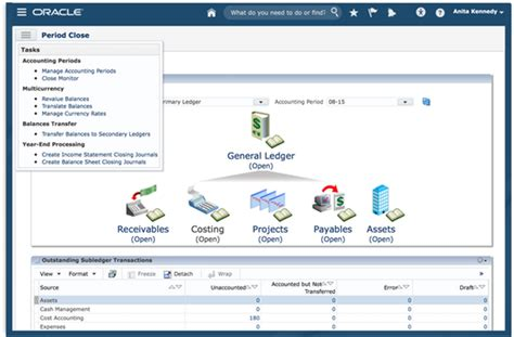 oracle financials erp cloud  pricing features demo