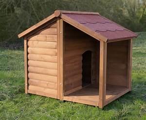 Niche Pour Chien Avec Terrasse : niche pour chien avec terrasse zolia manoa niche ~ Dailycaller-alerts.com Idées de Décoration
