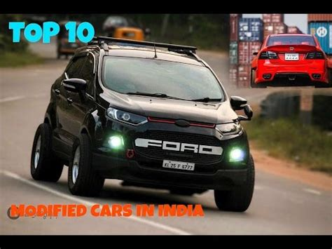 Best Modification Cars by Top 10 Modified Cars In India Best Cars