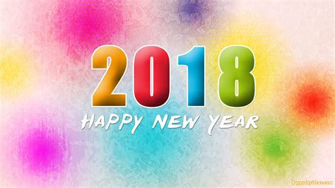 Happy New Year 2018 Wallpaper Download In Hd