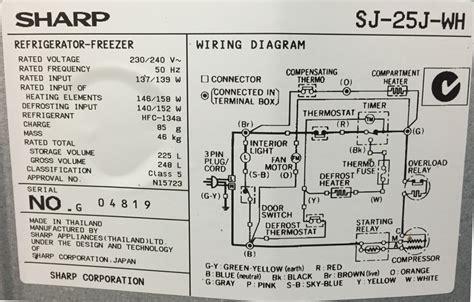 refrigerator understanding fridge wiring diagram home improvement stack exchange