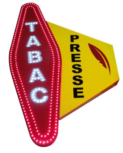 enseigne bureau de tabac a2m diffusion enseignes tabac presse