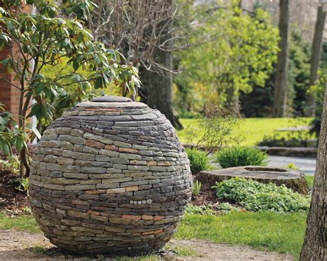 The Use Of Stone In Your Garden Gives It Its