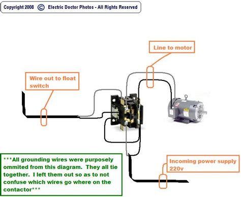 How Wire Float Switch Pump Its