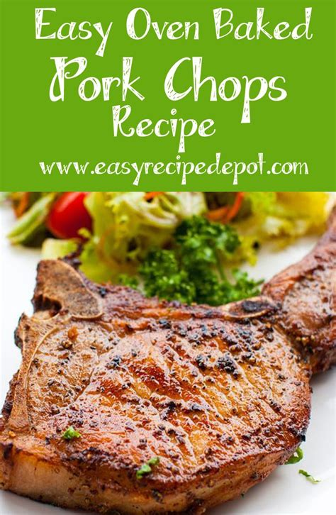 how to cook pork chops in oven 25 b 228 sta pork chops in oven id 233 erna p 229 pinterest
