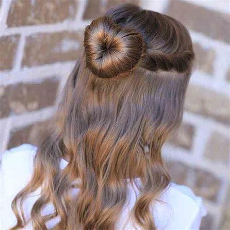 love bun valentine s day for the kiddies hair styles