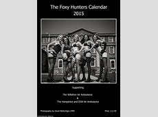 Foxy hunters and riders strip off for racy equestrian