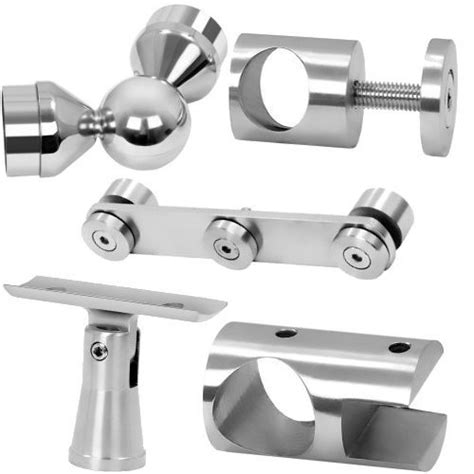 The creation of any of these railing or staircases begins with the stainless steel tubes. Stainless Steel Railing Accessories - Stainless Steel Railing Fittings Manufacturer from Rajkot