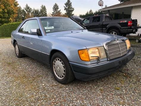 The sedan, coupe and cabriolet were all offered. 1991 Mercedes Benz 300CE Outside Victoria, Victoria