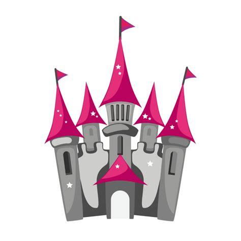 chambre york fille sticker château de princesse decoration fille