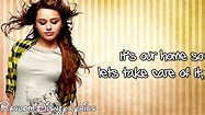 Miley Cyrus - Wake Up America (Lyrics On Screen) HD - YouTube