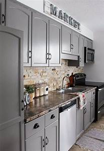 our kitchen cabinet makeover 817