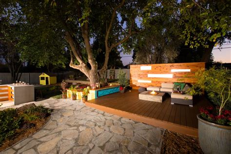 backyard makeovers  diy networks yard crashers