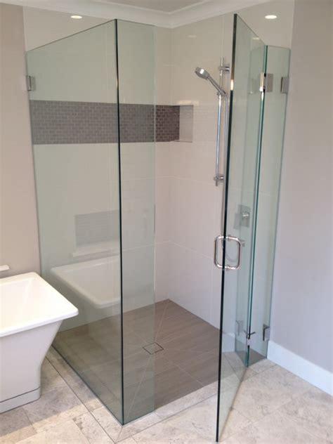 barrier free bathroom design large format shower tile terry plumbing remodel