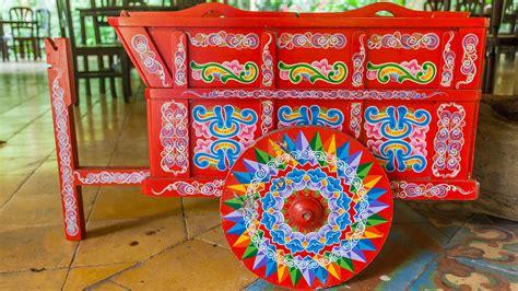 Las coloridas carretas típicas de Costa Rica Carreta